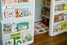 reading nooks / Reading nooks and special reading areas for kids playrooms and bedrooms
