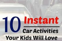 Travel with Kids / Ideas for road trips with kids, plane travel with kids, and more