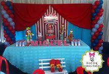 Festa Circo de Palhaços - Miguel