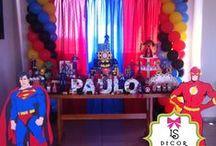 Festa Super Heróis - Neto