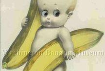 Banana postcards