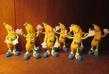 Banana games and toys