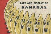 Vintage Banana Graphics