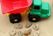 outdoor learning / kids outdoor educational activities