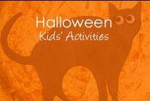 Halloween / Kids Halloween activities, costume ideas, book theme costumes, kids games
