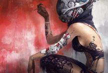 Cyberpunk Art - Science Fiction