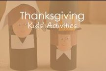 Thanksgiving / Thanksgiving crafts, activities, plus parenting articles about promoting gratitude and being thankful