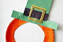 St. Patrick's Day for kids / crafts, activities, and recipes for celebrating Saint Patrick's day with children