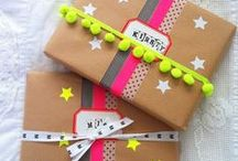 Give me a gift / Wrapping, paper & pacchi regalo