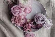 Flowers / Inspirazioni e suggestioni tratte dai colori e dai profumi dei fiori