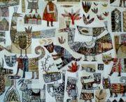 Outsider Art, Art Brut, Folk Art, etc. / Unschooled/untrained/un-tainted artists and their wonderful artwork.