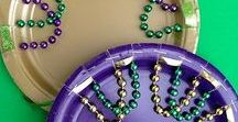 Mardi Gras for kids / Children's Mardi Gras activities - Fat Tuesday fun!