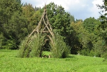 willow huts