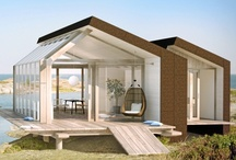 Summer Cabin Ideas / Collection of personal favorite designs and designers, and contemporary architecture. Something to dream of when planning a new summer cabin.
