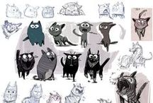 { Character Design - Animals }