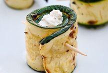 Courgettes / Courgettes, lekker, gezond en veelzijdig! Inspiratie nodig? Kijk dan op mijn blog: www.gezonddineren.nl/blog