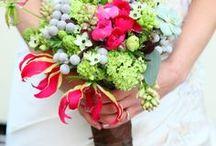 Winter Wedding Flowers / Winter Wedding flowers from the Wilde Bunch