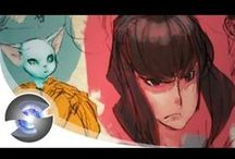 { Drawing Tuts / Speed Painting Video }
