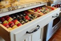 Storage Ideas / Our favorite storage solutions we've used on various Southern Kitchens, Inc jobs, plus inspiration pulled from other great ideas about how to best organize your home.
