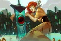 { Transistor : Game Art }