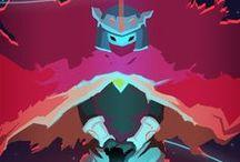 { Hyper Light Drifter : Game Art}