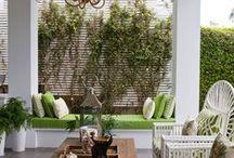 Terraces porches