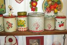 Vintage tins and boxes / by Barbara Marks