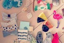 Prabang accessories (plate of plastic) / プラバンアクセサリー