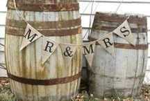Wine Barrels / Creative ways to use wine barrels in weddings / by American Vintage Rentals