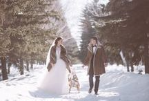 Зимняя сказка / свадьба зимой, семья, детки, любовь, сани