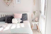 Beautiful bedrooms / Bedroom inspiration