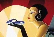 Art deco,  Art Nouveau / Art deco,art nouveau