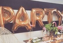 BIRTHDAY~ PARTY~ THEMES / All ages and different themed partie ideas!!