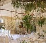 Marquee Weddings | Flowers / The Wilde Bunch are in our element designing Marquee wedding flowers. Man the ladders and 'Go Wilde' with spectacular 'jaw dropping' hanging canopies and garlands.  Bringing the garden under cover. ALL IMAGES ARE WILDE BUNCH DESIGNS AND WEDDINGS. WE DON'T PIN OTHER PEOPLE'S WORK