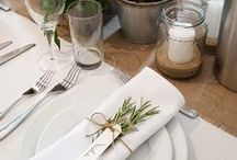 Wedding Table Settings / Floral ideas for your wedding table settings. Those little extras that can make such a difference. ALL IMAGES ARE OF WILDE BUNCH DESIGNS. WE DO NOT PIN OTHER PEOPLES WORK