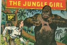 Party Theme: JUNGLE : comics & wilderness / inspirations and ideas for a jungle themed party, for grown-ups or teens mostly, inspired by old movies and comic books