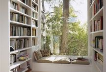 Dream Places to READ! / One day I would love to have a reading nook like any of these!