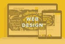 Web Design / Call us Spiderman, because here at Zest, we can't get enough web design. This board is great for anyone wanting to follow trends, get some inspiration, and see what kind of web design we like best!