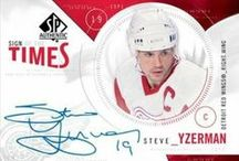 Steve Yzerman hockey cards / photos of Steve Yzerman hockey cards #Yzerman