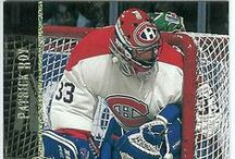 Patrick Roy Hockey Cards / An assortment of Patrick Roy hockey cards #PatrickRoy