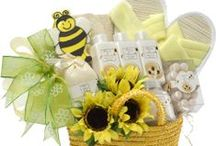 Spa and body care baskets - From Amazon
