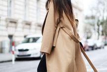::: beige coats :::