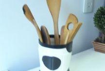 """Meus trabalhos - Artesanato com reciclagem / Artesanato com reciclagem. Coisas que faço com """"lixo""""."""