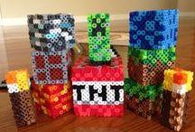 •PERLER MINECRAFT• / Perler art of Minecraft