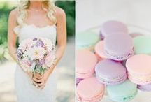 2016 Wedding Trends / All the loveliness of weddings to look forward to this year: featuring floral themes, pastels, monograms, boho chic brides, and much more!