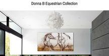 Horse Art on Etsy / Donna B #Equestrian Fine Art & Jewelry for Art & Horse Lovers now available on #ETSY