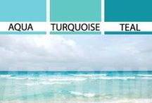Colour your life - Turquoise...so fresh! / colour inspiration in turquoise.