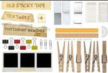 Resources: Web Design (Graphics, Help, Codes) / by Brittanie Loren