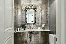 Powder Rooms / powder room splendor-elegant bathrooms