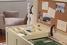 storage ideas / by Nancy Howe